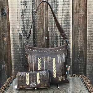 Western Montana west arrow handbag&wallet ser